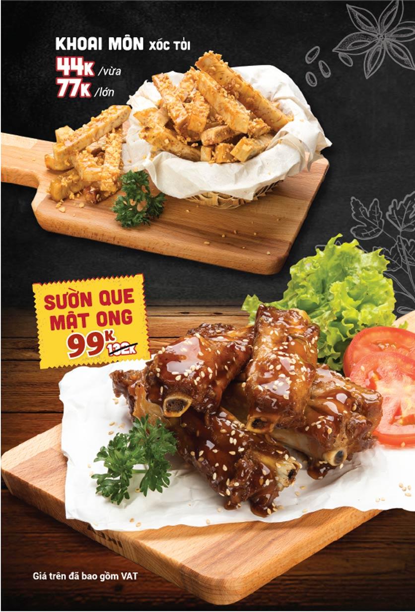 Menu Lẩu Bò Sài Gòn Vi Vu – Aeon Mall Bình Tân 10