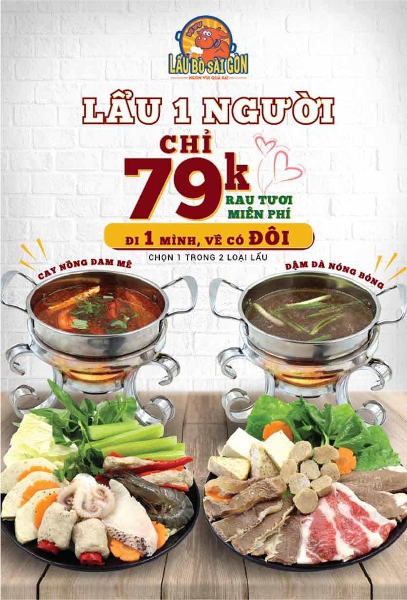 Menu Lẩu Bò Sài Gòn Vi Vu – Aeon Mall Bình Tân 2