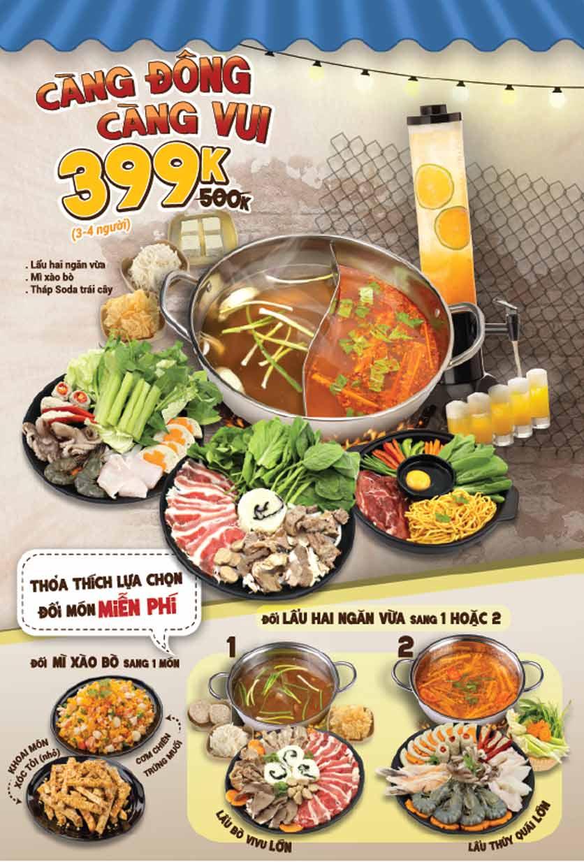 Menu Lẩu Bò Sài Gòn Vi Vu – Aeon Mall Bình Tân 6