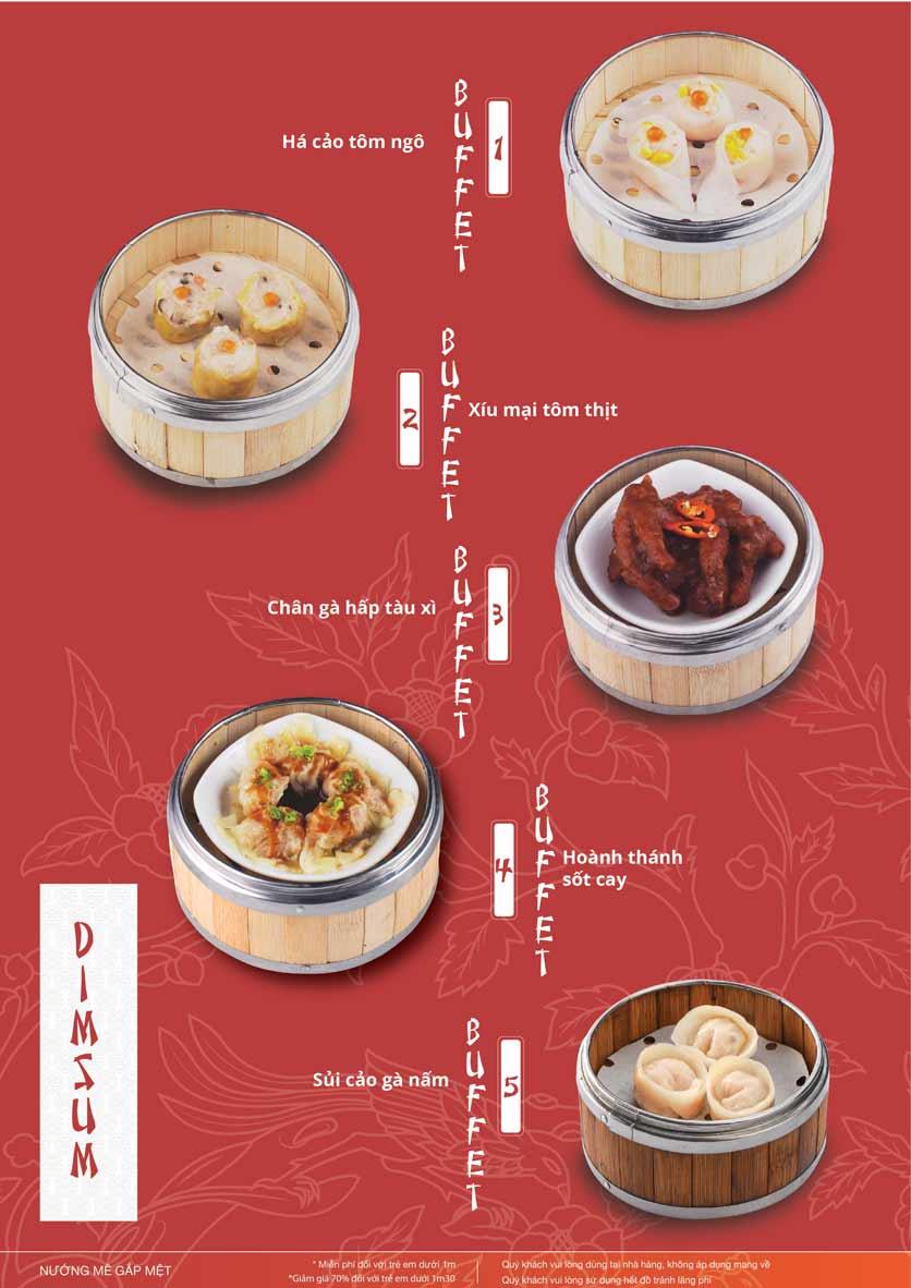 Menu Làu - Buffet Lẩu Nướng - Nguyên Hồng 3