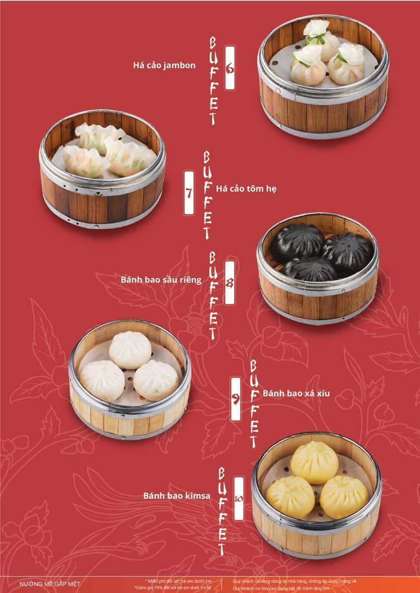 Menu Làu - Buffet Lẩu Nướng - Nguyên Hồng 4