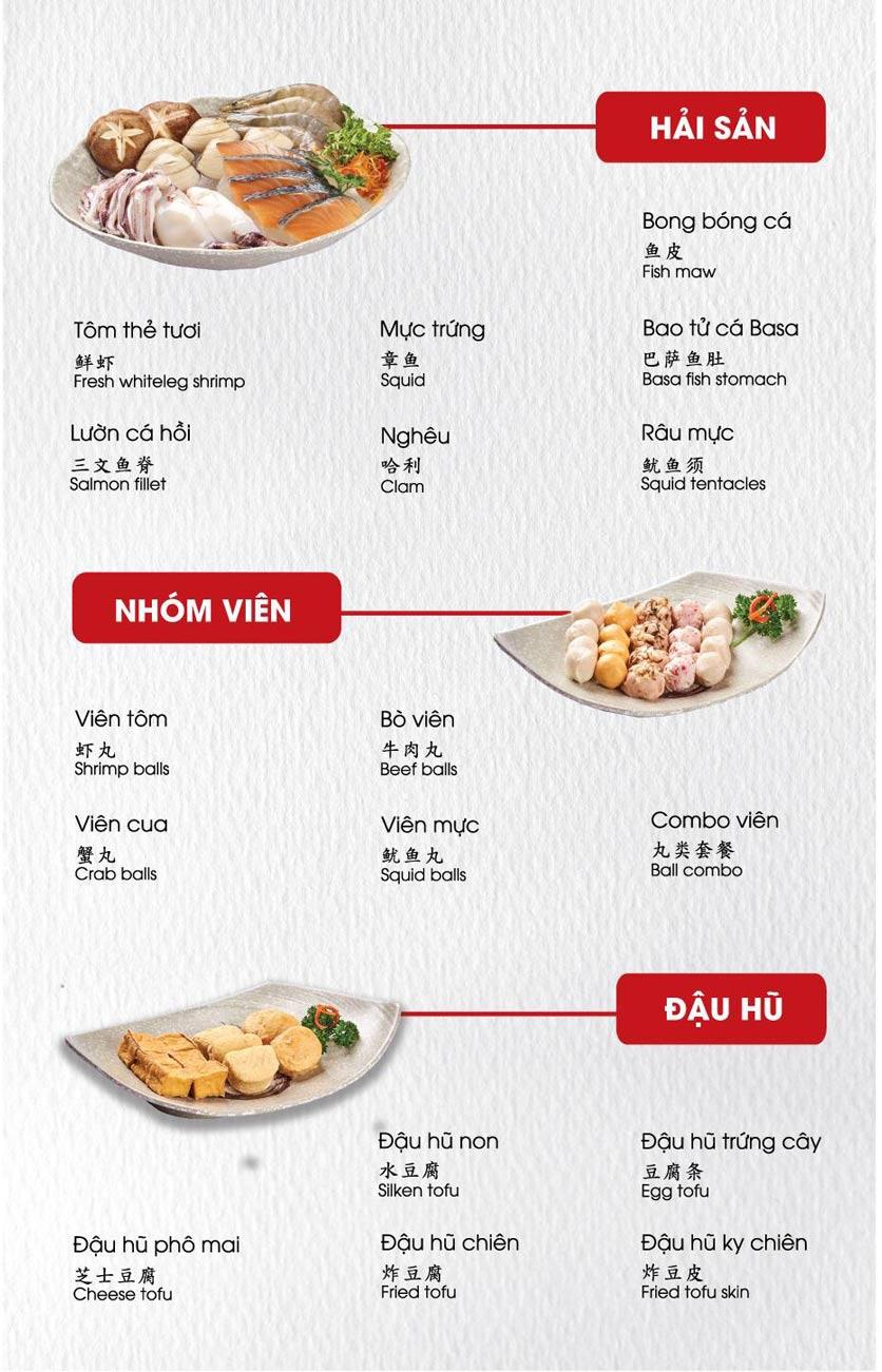 Menu Lẩu Hồng Kông - Hoàng Văn Thụ (Khách sạn Tân Sơn Nhất) 4