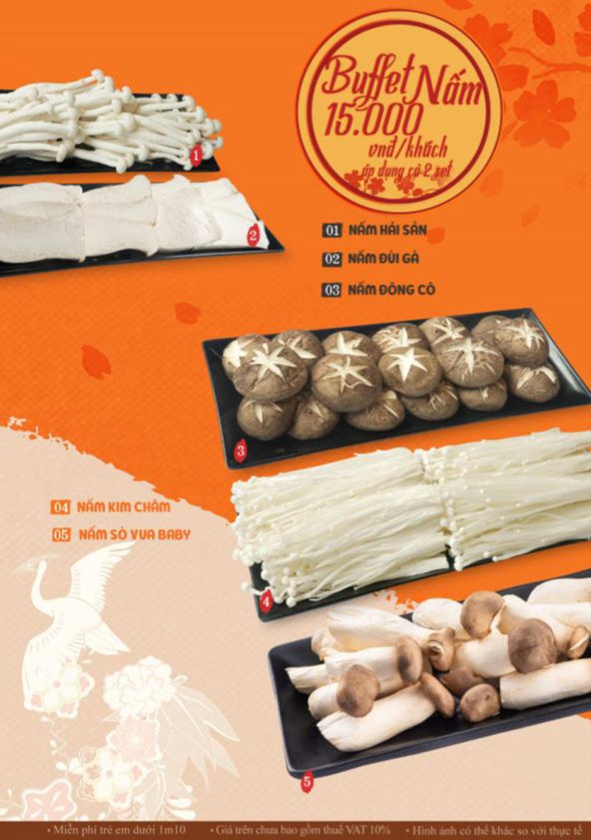 Menu Lẩu Phan - Phùng Khoang 10