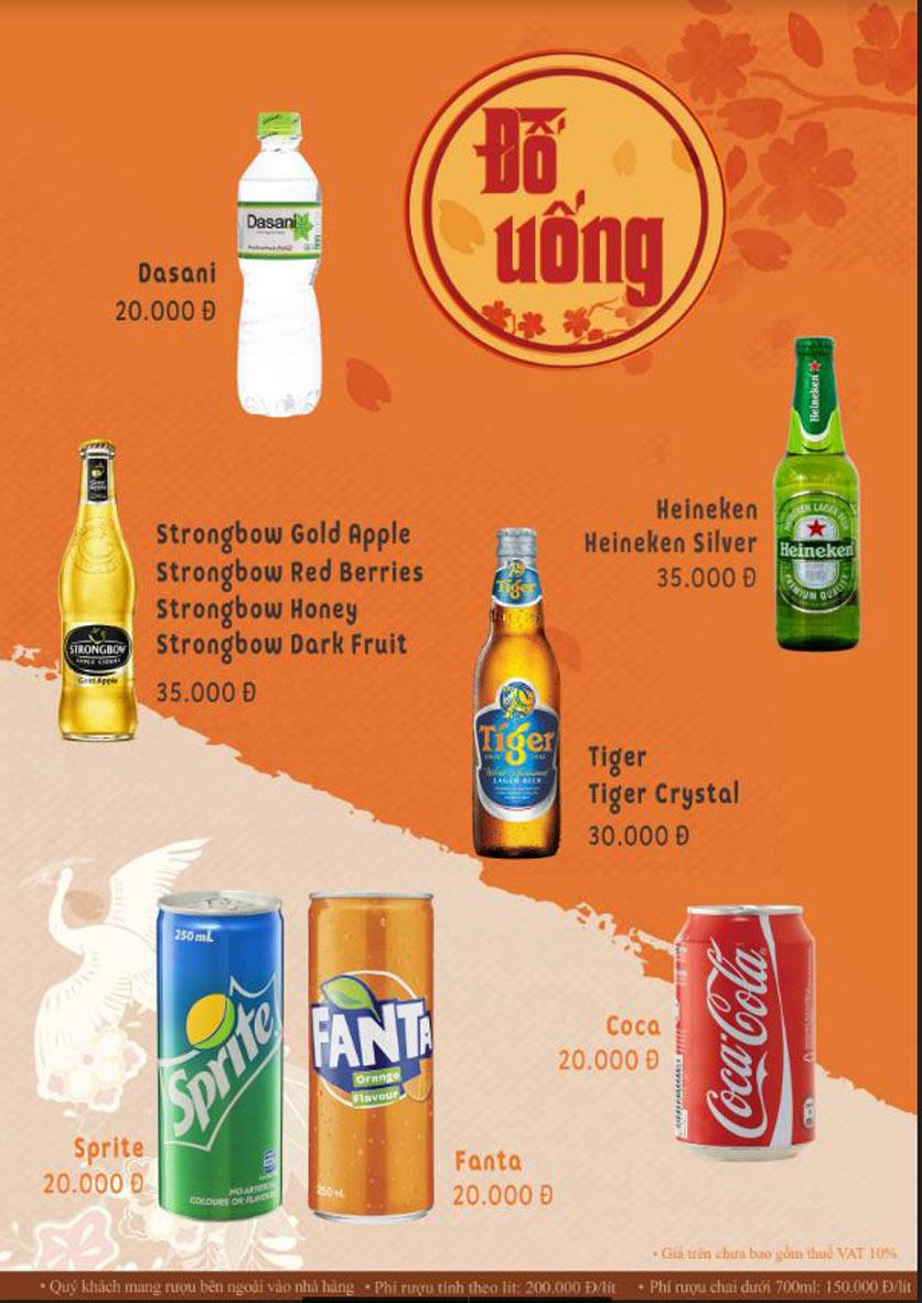 Menu Lẩu Phan - Phùng Khoang 11