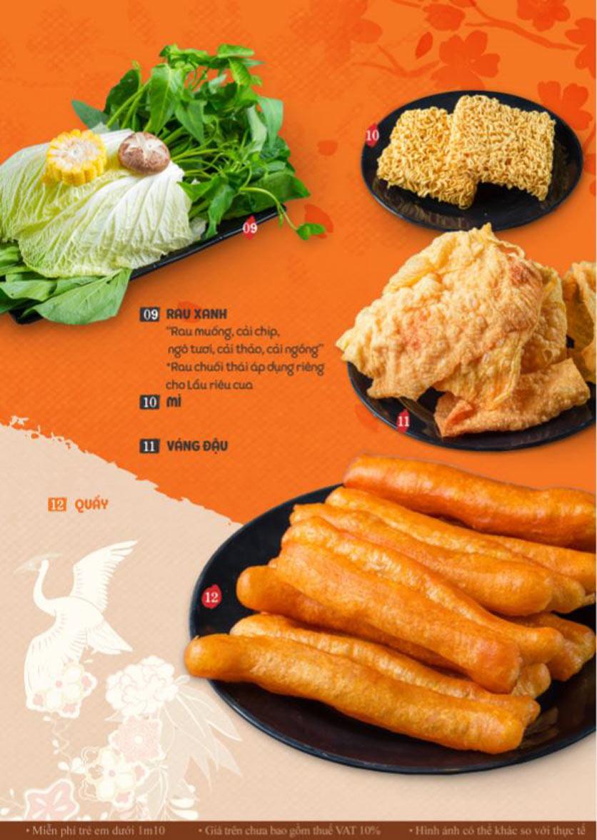 Menu Lẩu Phan - Phùng Khoang 4
