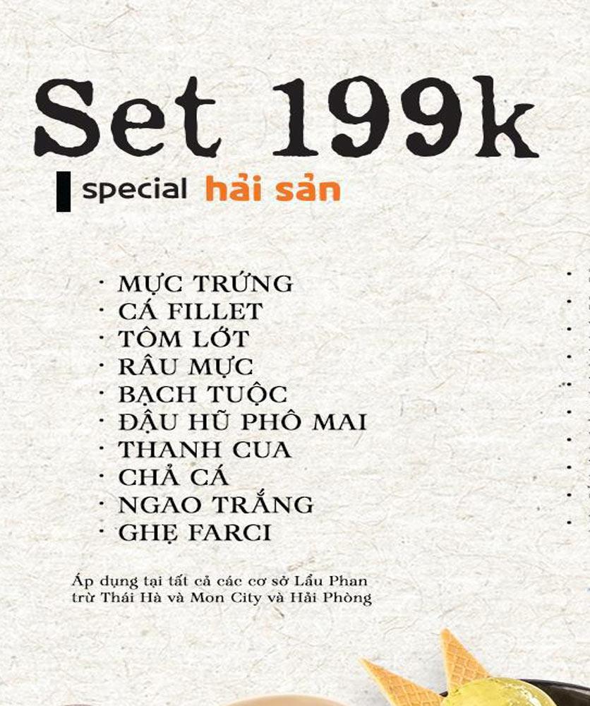 Menu Lẩu Phan - Thái Hà 3