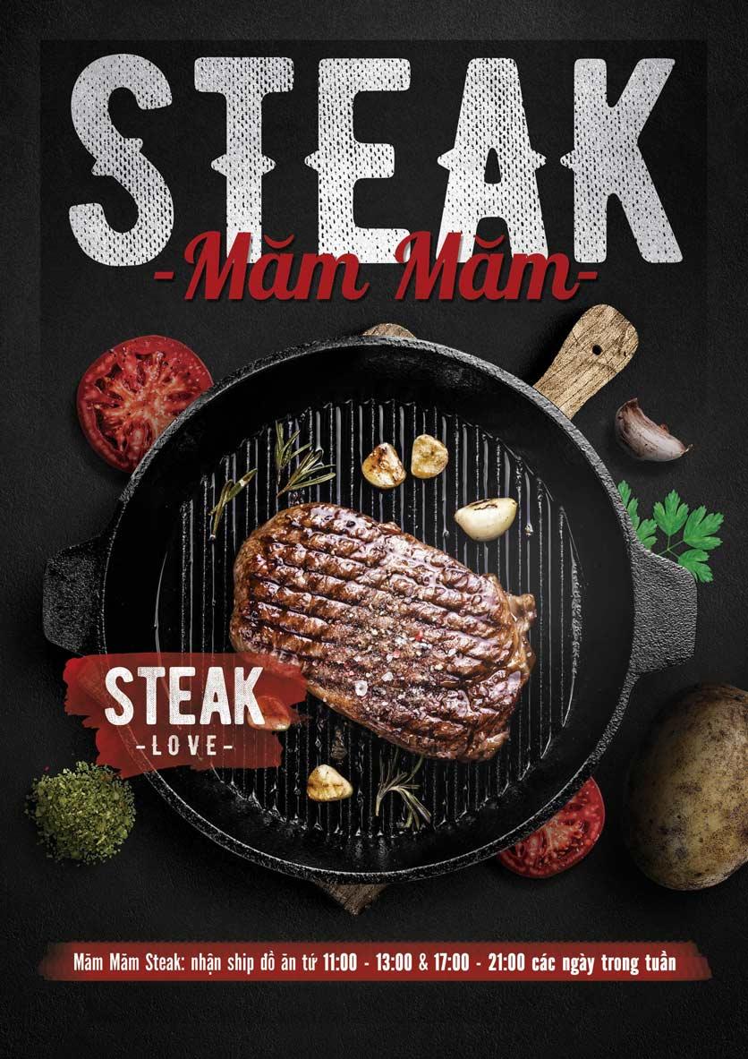 Menu Măm Măm Steak – Giảng Võ 1