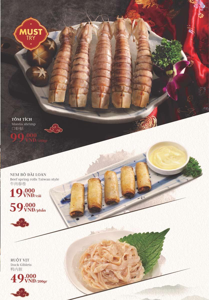 Menu Manwah – Taiwanese Hot Pot - Gala Center  6