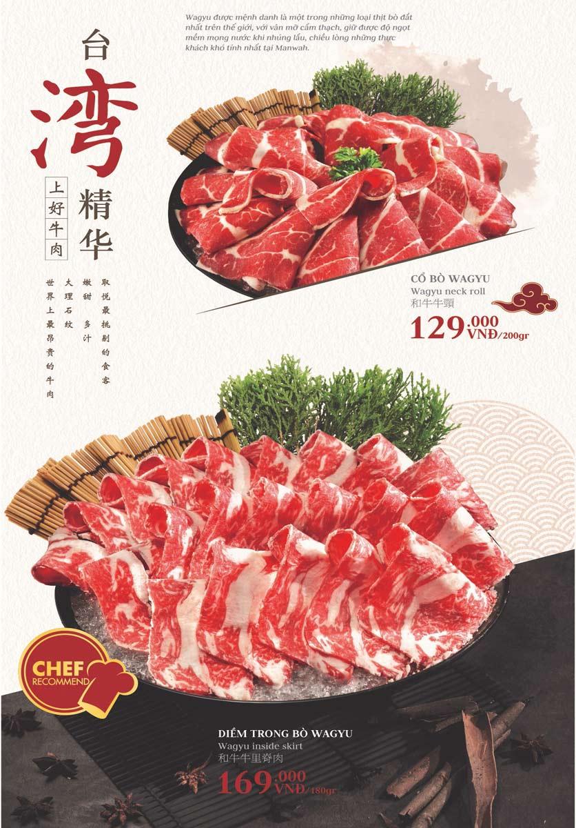 Menu Manwah – Taiwanese Hot Pot - Gala Center  7