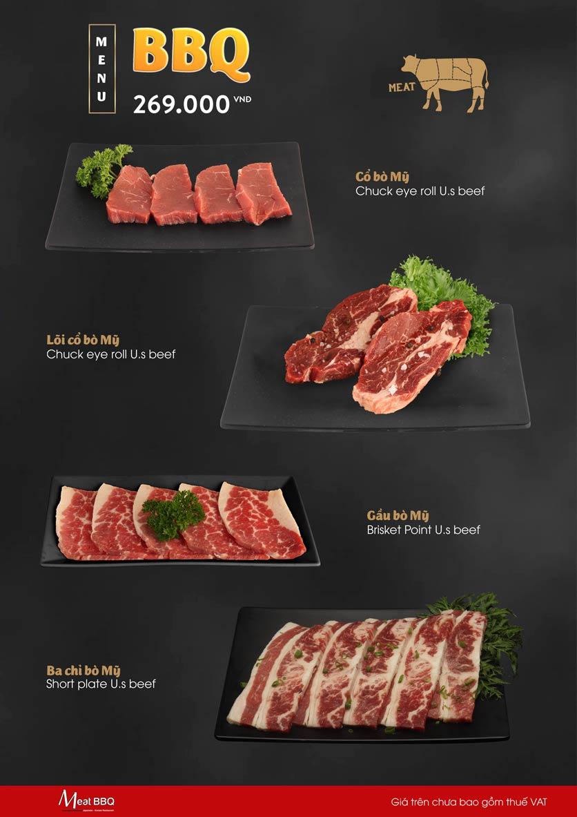 Menu Meat BBQ – Trần Khắc Chân 2