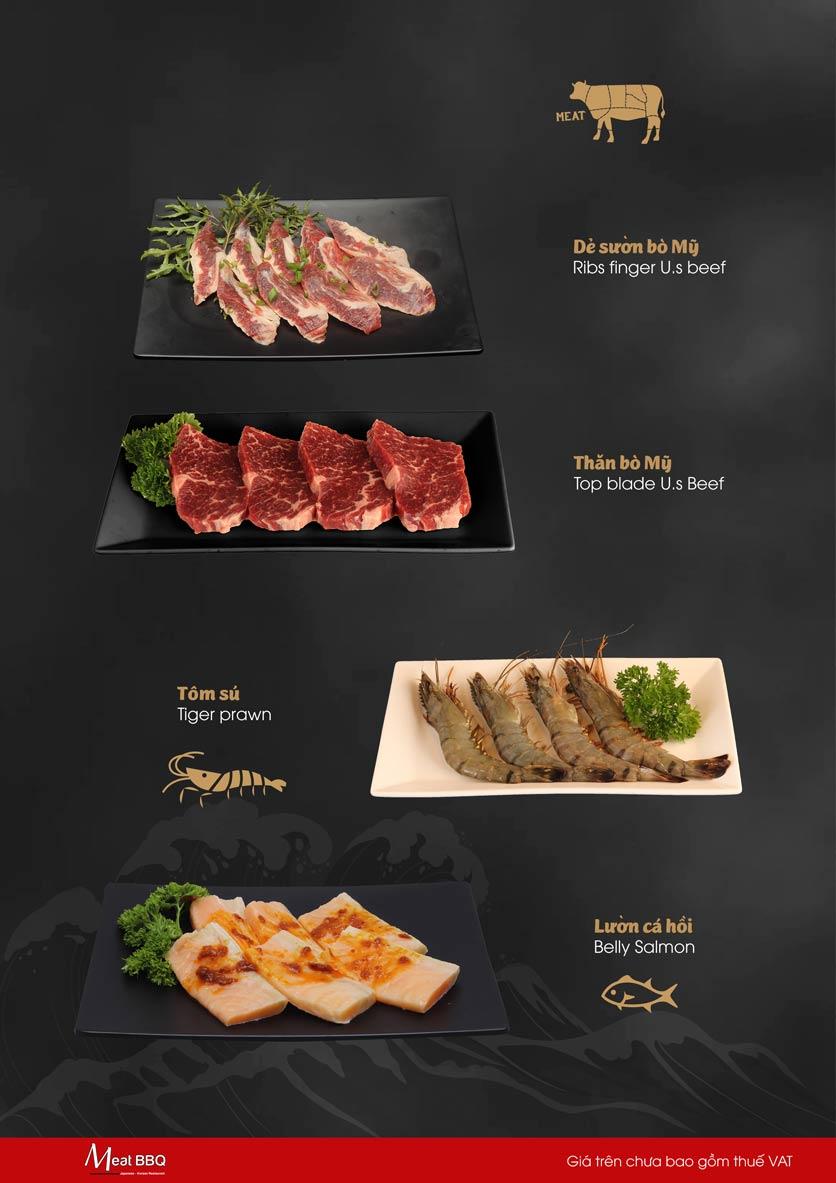 Menu Meat BBQ – Trần Khắc Chân 13