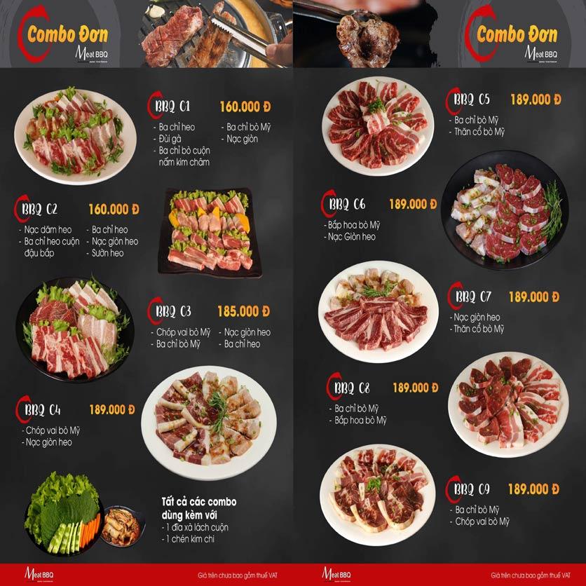 Menu Meat BBQ – Trần Khắc Chân 14