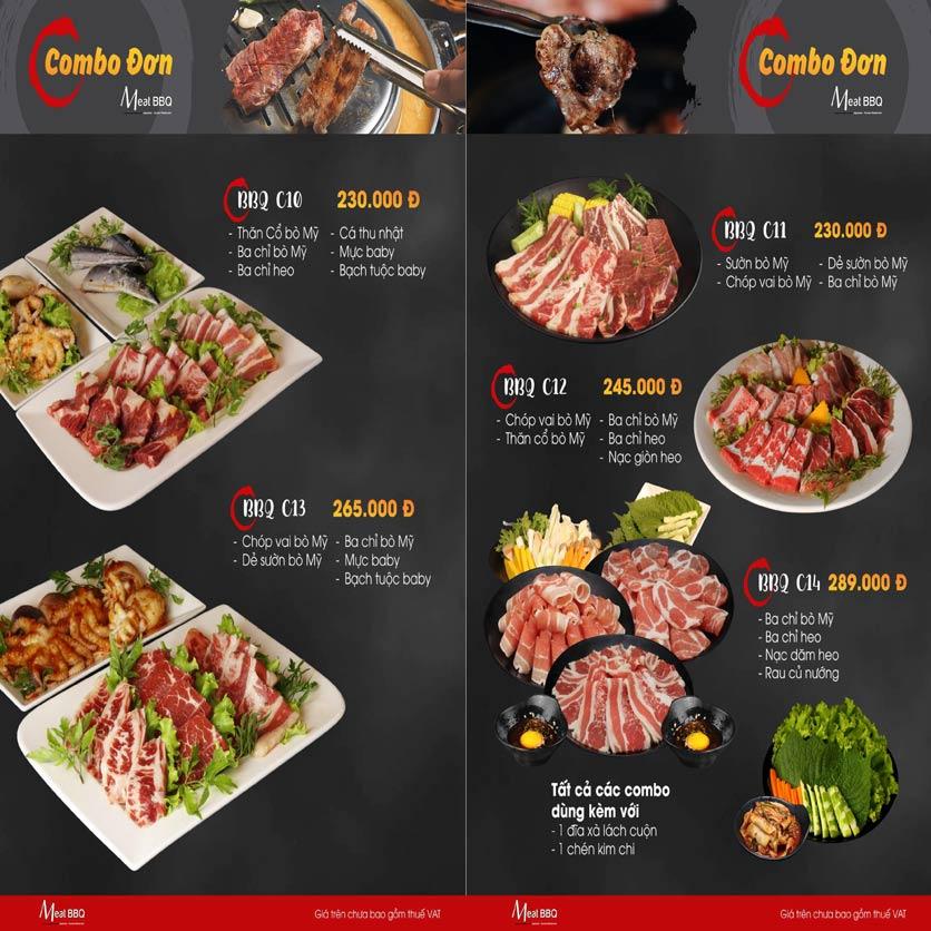 Menu Meat BBQ – Trần Khắc Chân 15