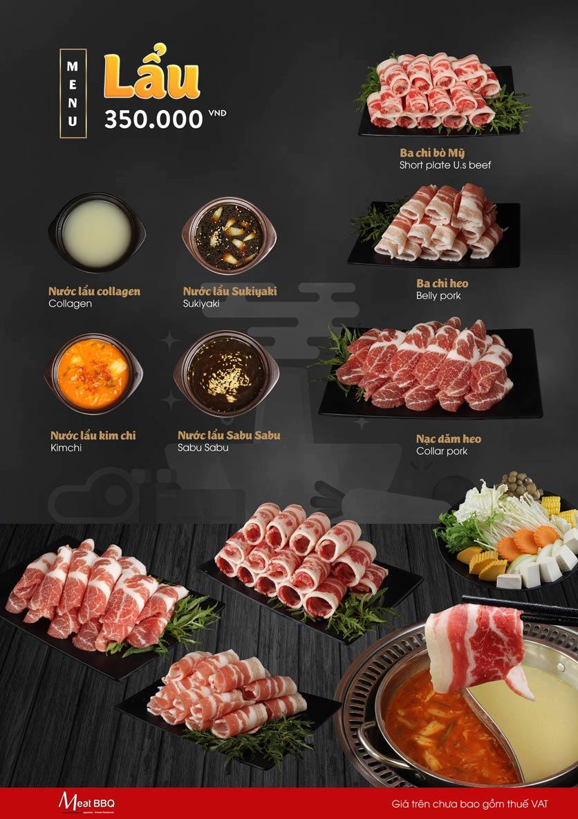 Menu Meat BBQ – Trần Khắc Chân 19