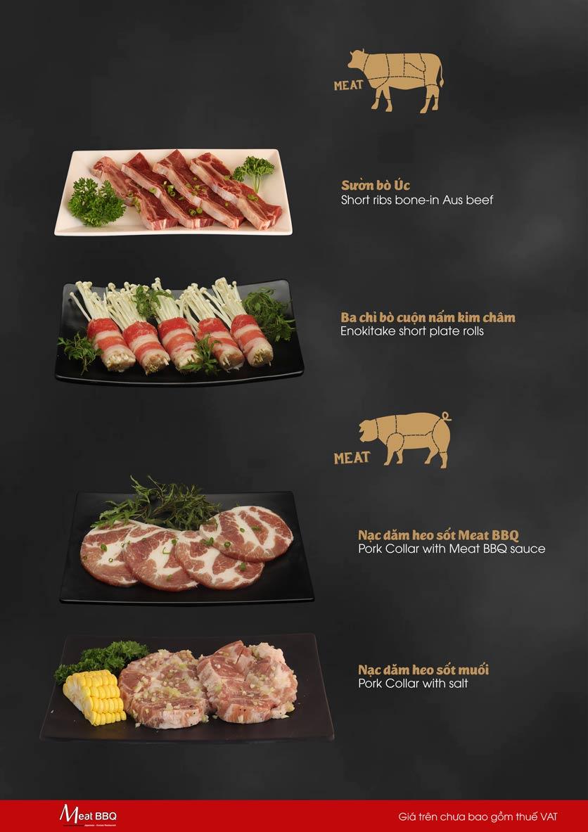 Menu Meat BBQ – Trần Khắc Chân 3