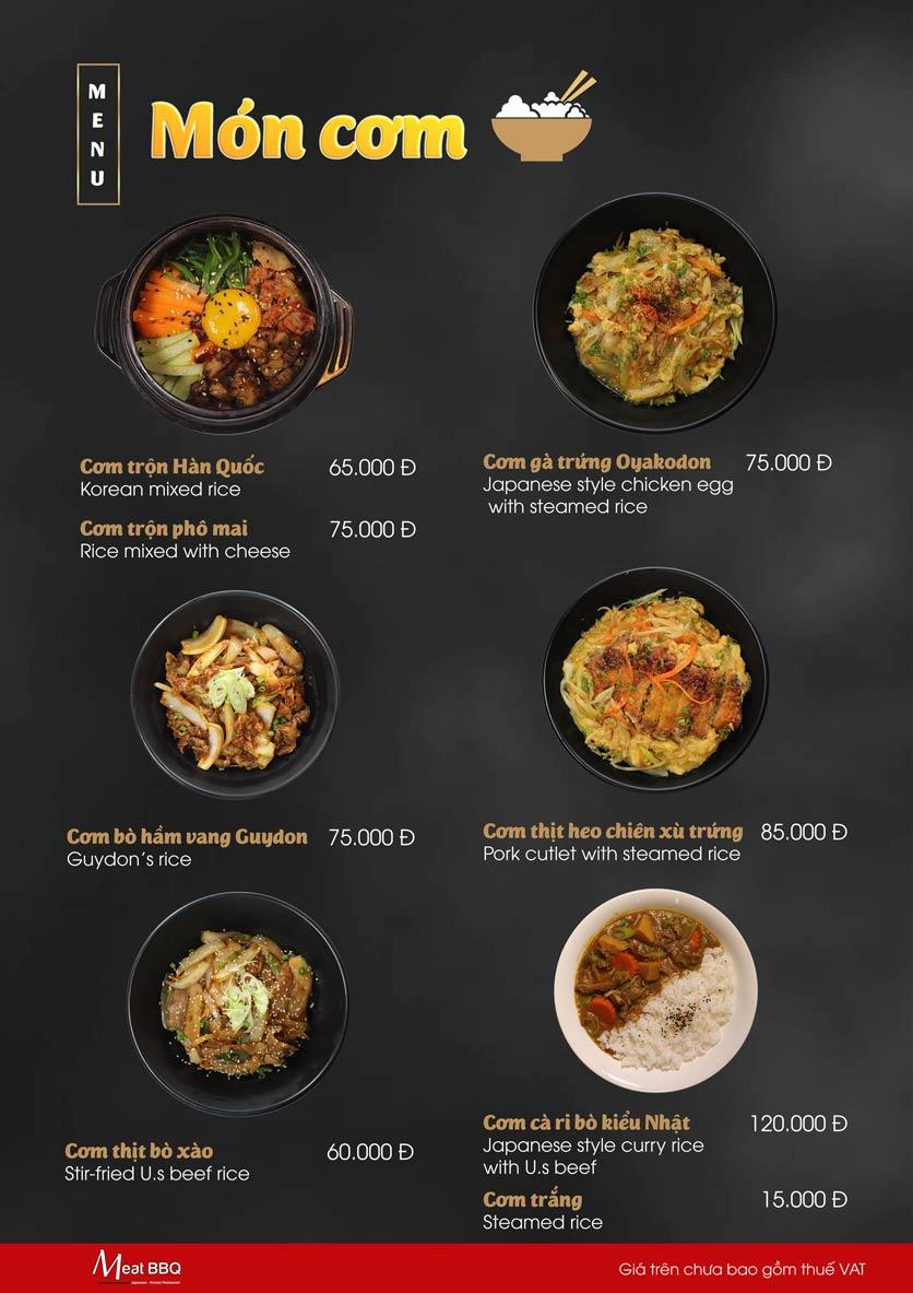 Menu Meat BBQ – Trần Khắc Chân 23