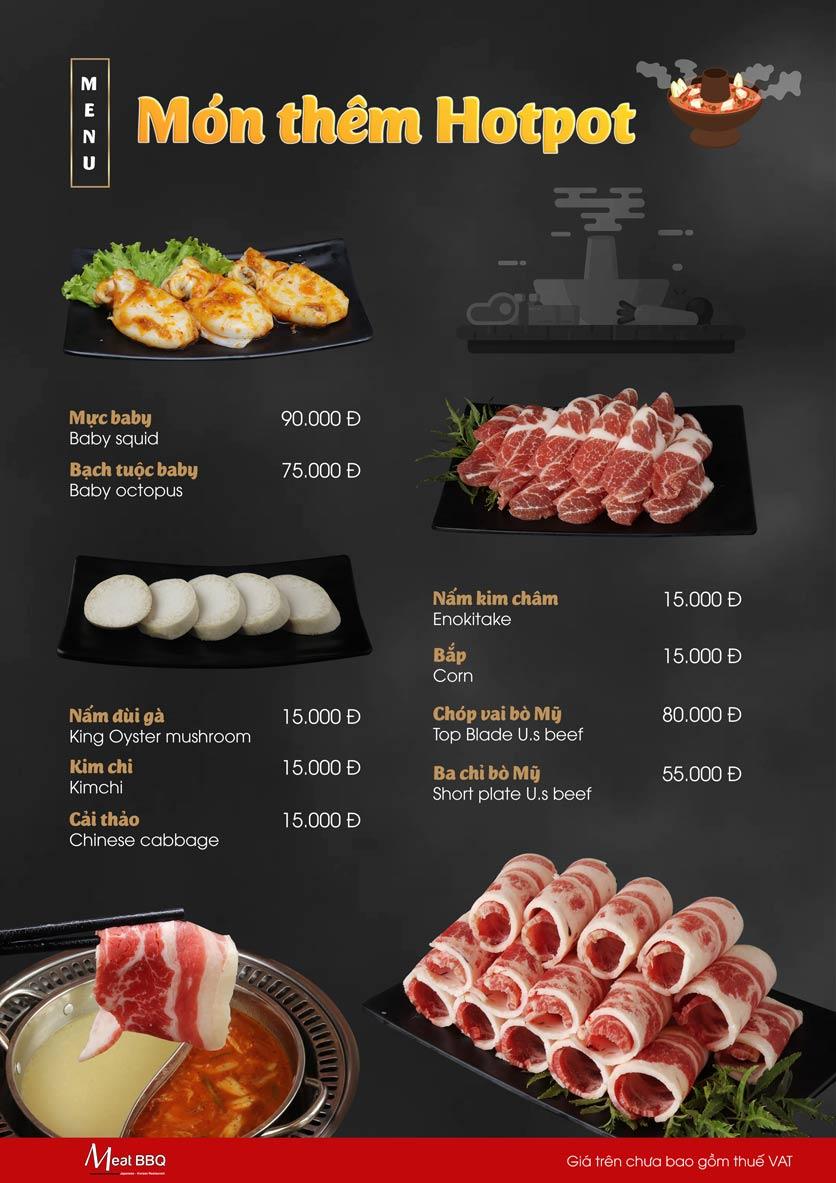 Menu Meat BBQ – Trần Khắc Chân 24