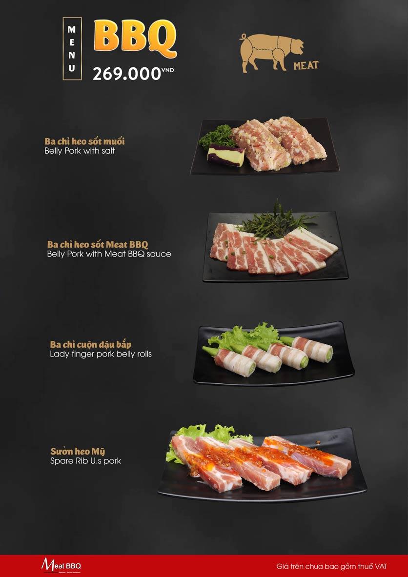Menu Meat BBQ – Trần Khắc Chân 4