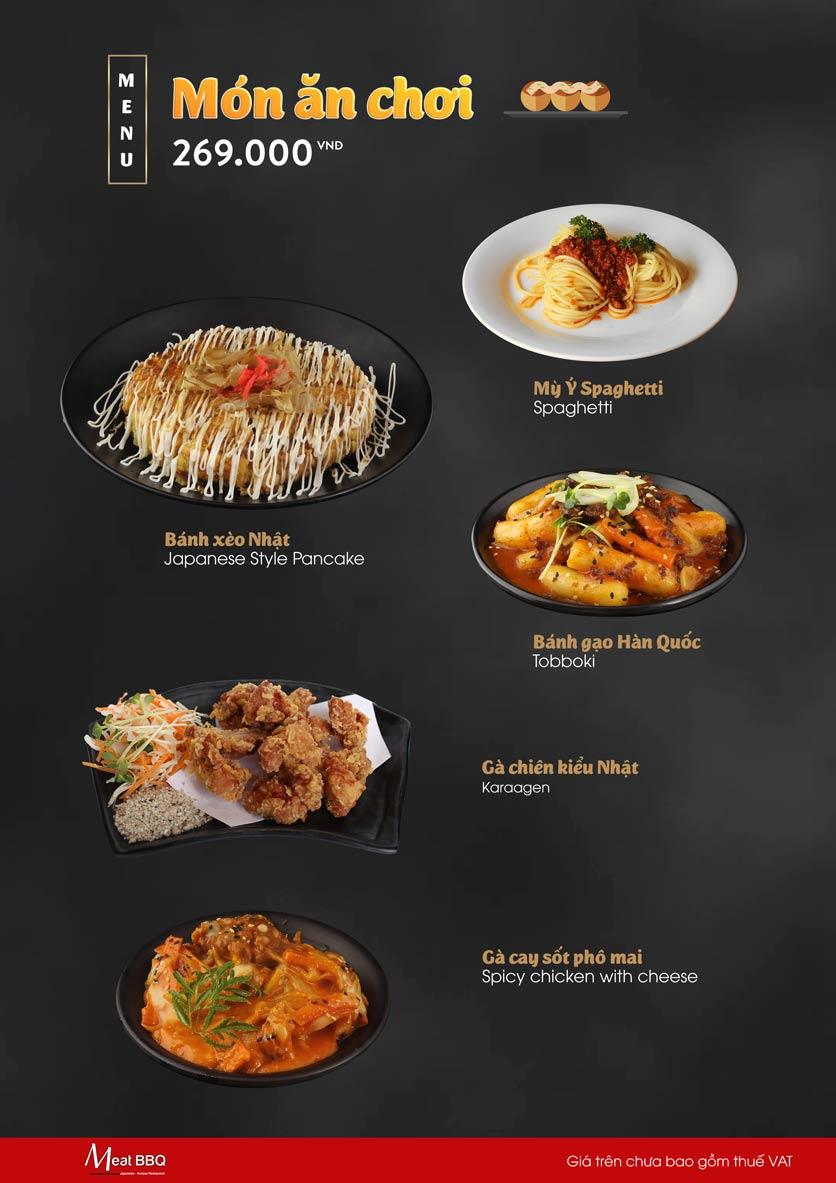 Menu Meat BBQ – Trần Khắc Chân 8