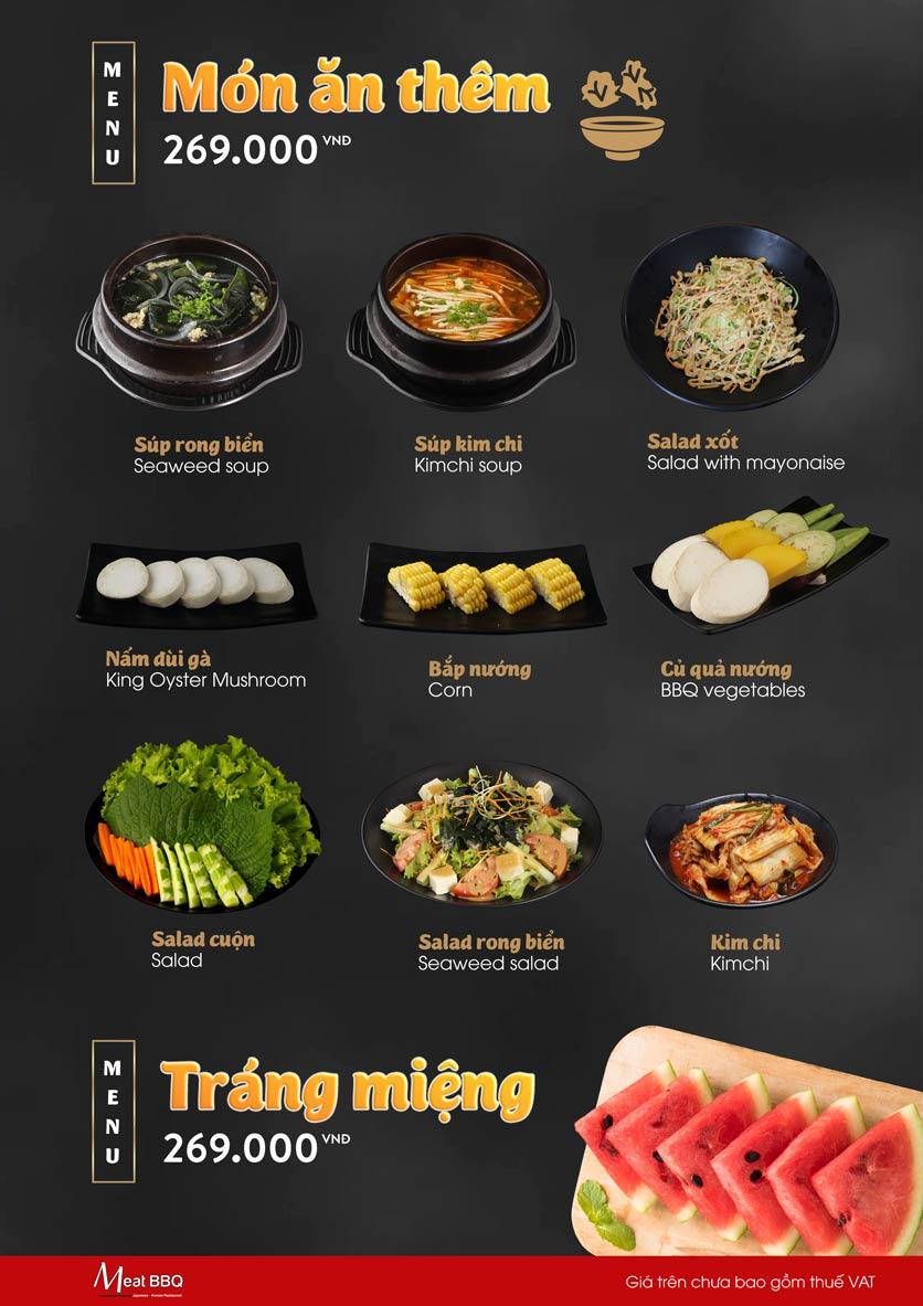 Menu Meat BBQ – Trần Khắc Chân 9