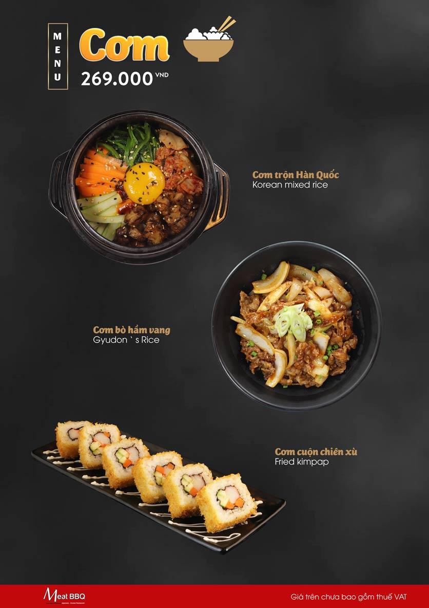 Menu Meat BBQ – Trần Khắc Chân 10