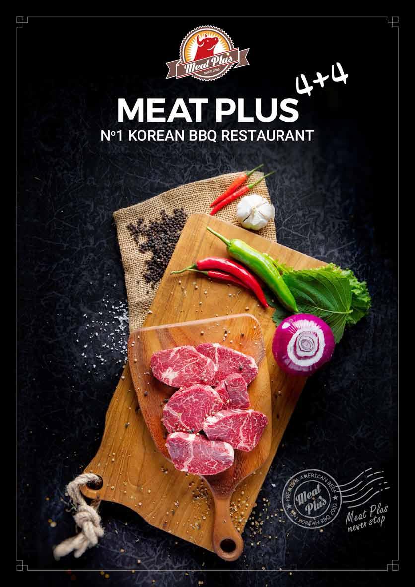 Menu Meat Plus - Aeon Mall Hà Đông 1