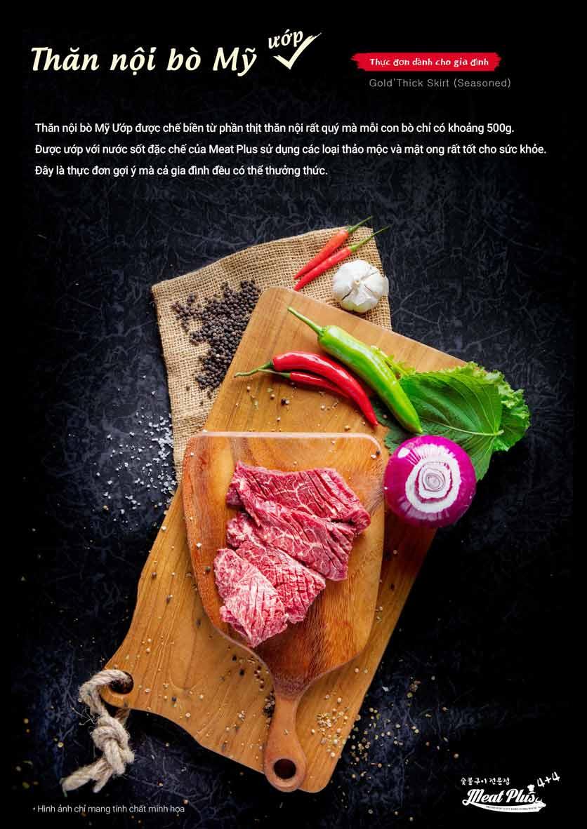 Menu Meat Plus - Aeon Mall Hà Đông 3