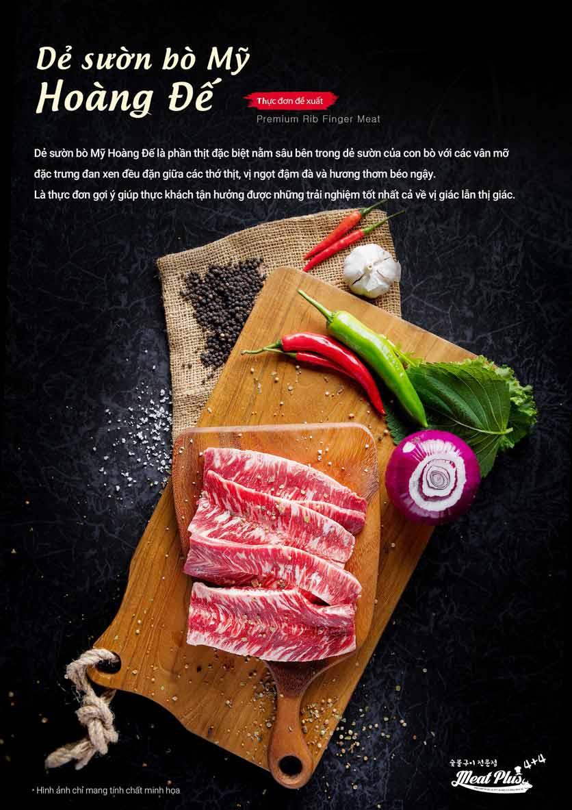 Menu Meat Plus - Aeon Mall Hà Đông 5