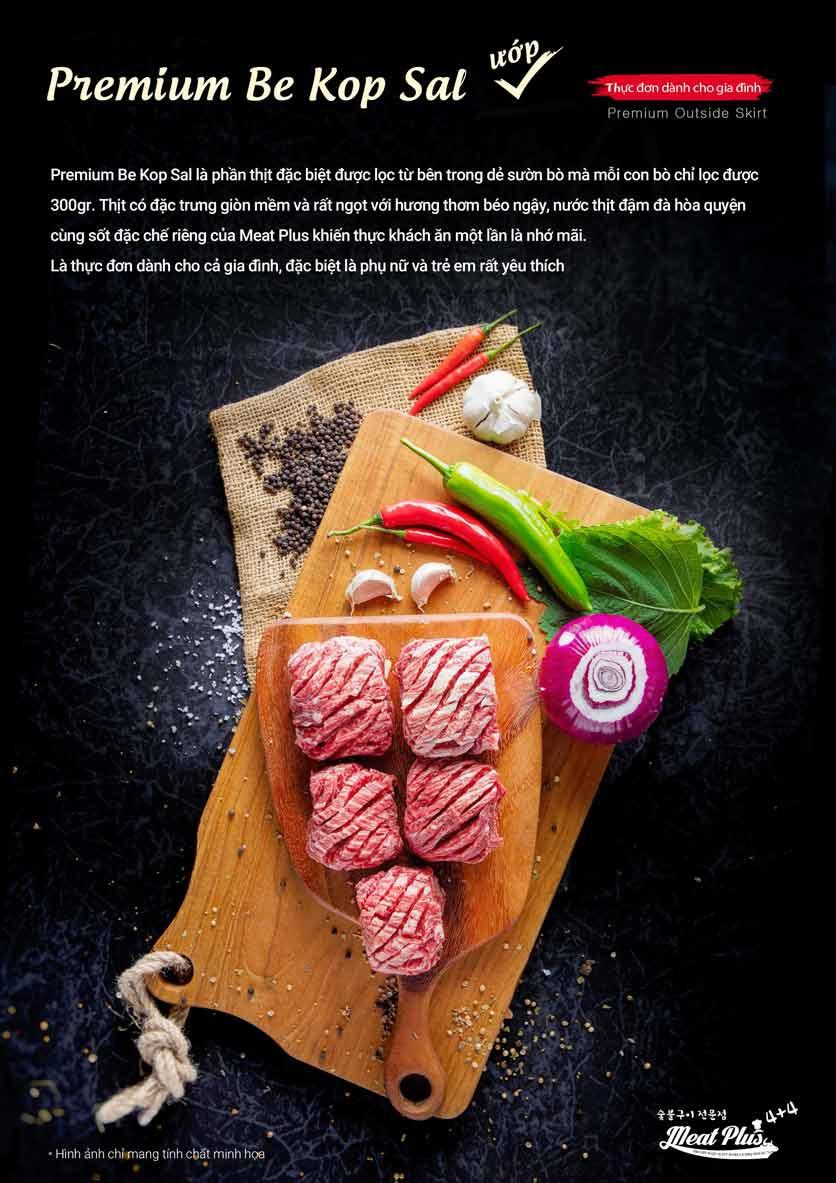 Menu Meat Plus - Aeon Mall Hà Đông 6