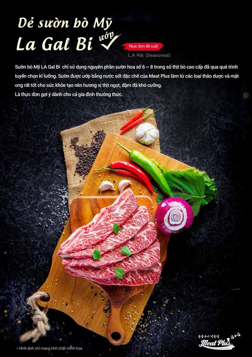 Menu Meat Plus - Aeon Mall Hà Đông 7