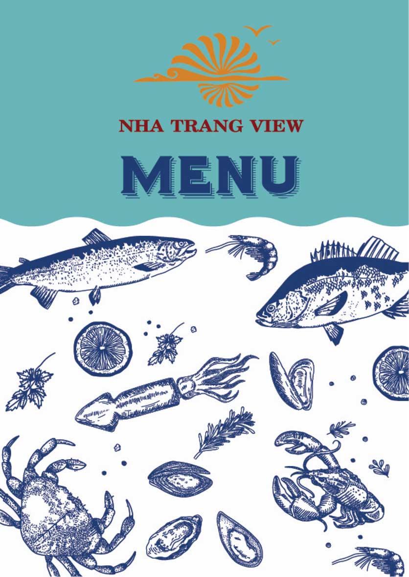 Menu Nha Trang View Restaurant - Trần Phú 1