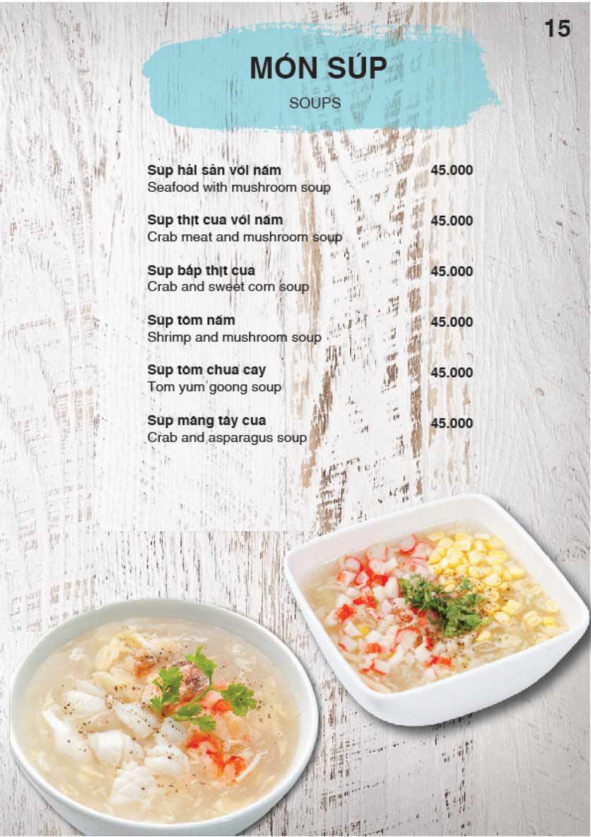 Menu Nha Trang View Restaurant - Trần Phú 16
