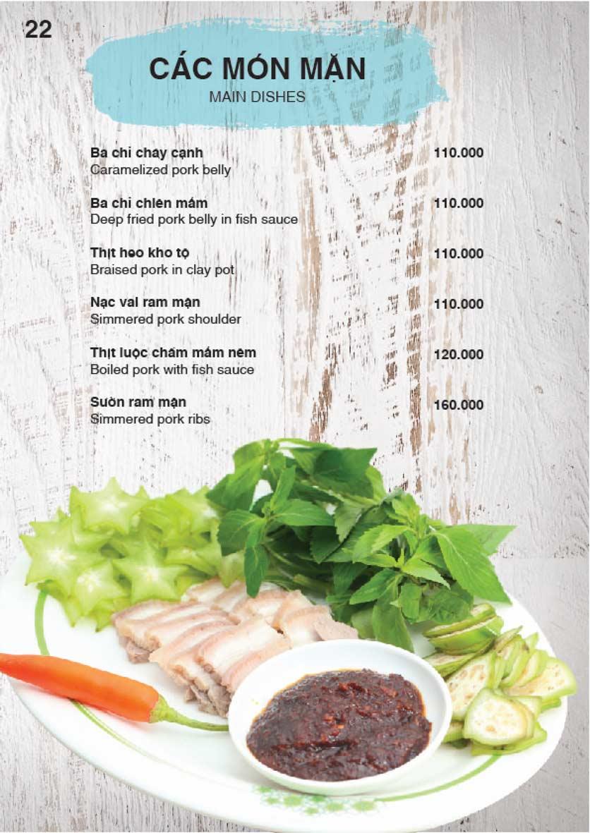 Menu Nha Trang View Restaurant - Trần Phú 23