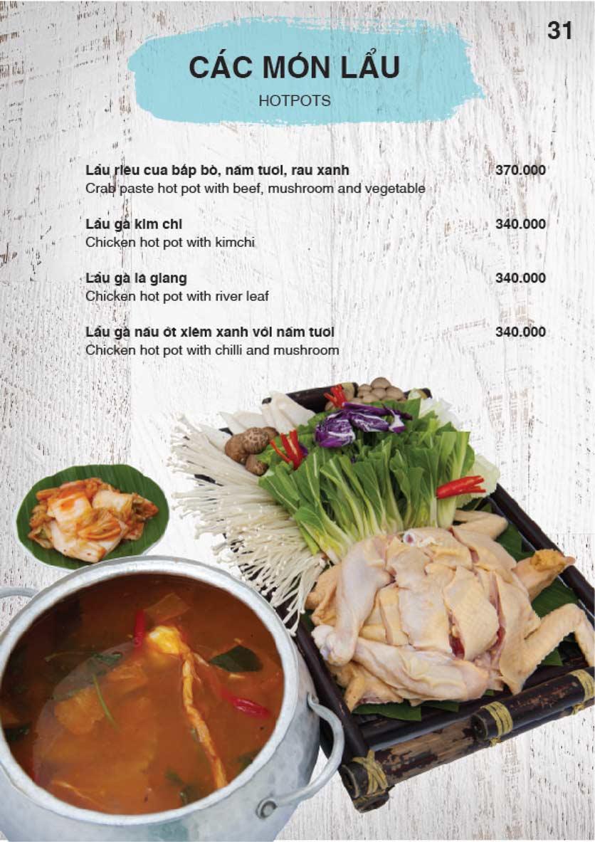 Menu Nha Trang View Restaurant - Trần Phú 32