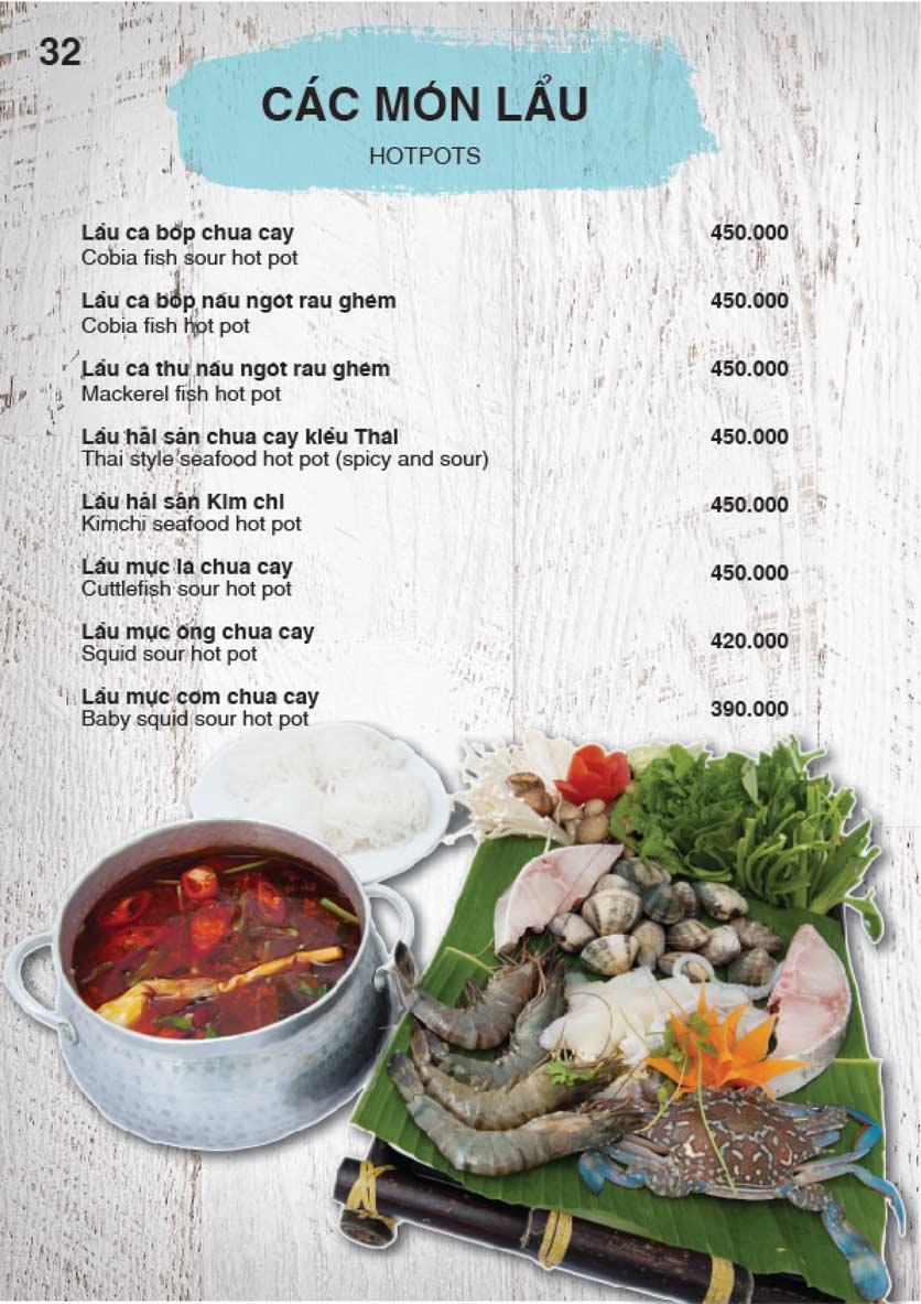 Menu Nha Trang View Restaurant - Trần Phú 33