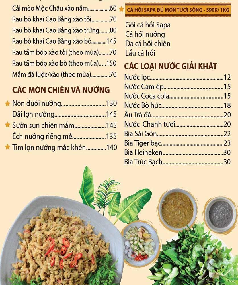 Menu Pao Quán - Trần Thái Tông 3