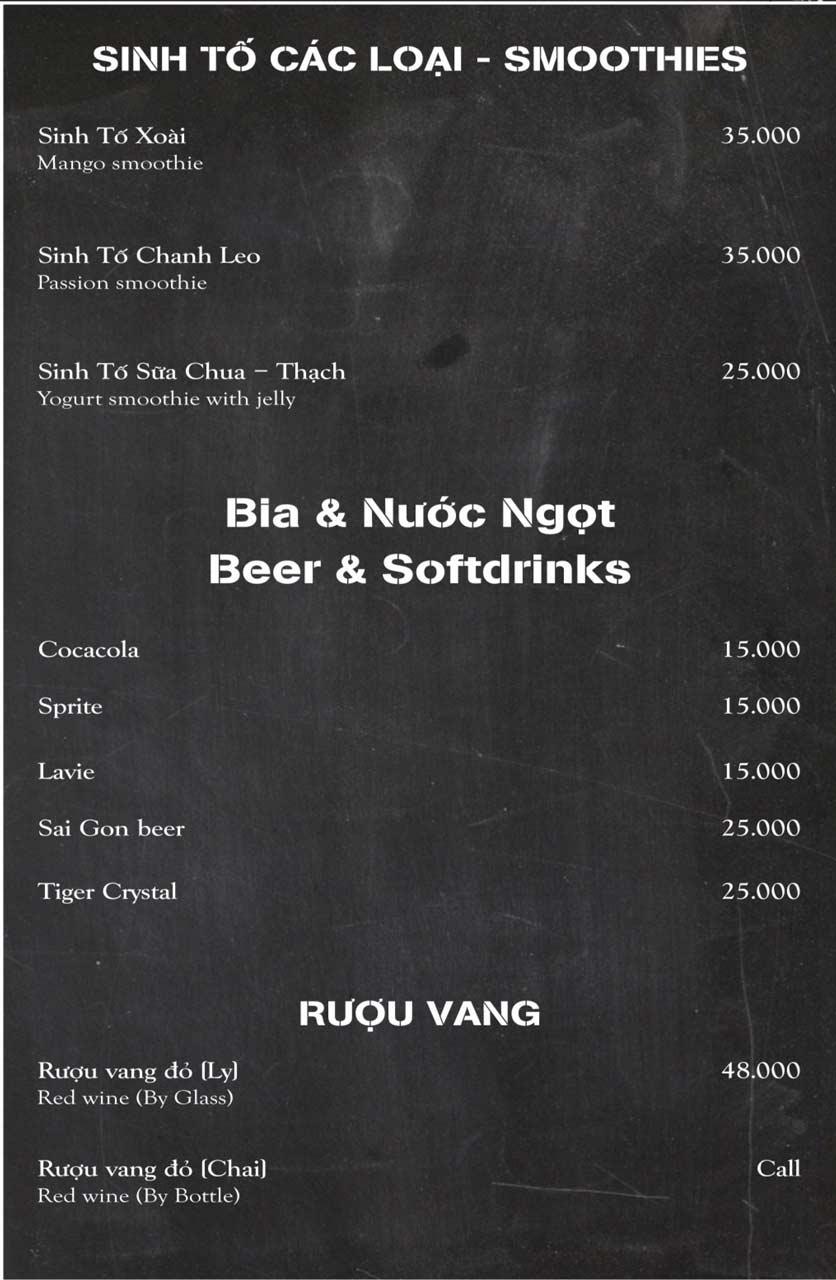 Menu Papa's Pizza & BBQ - Nguyễn Văn Cừ 7