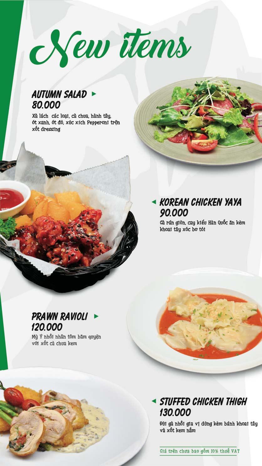 Menu Pepperonis - Huỳnh Thúc Kháng 3