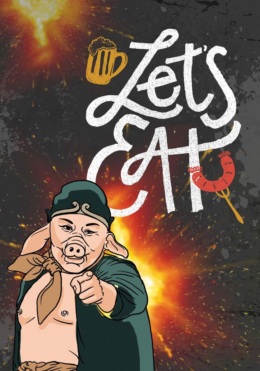 Menu Quán Lão Trư – Street Food BBQ & Beer – Song Hành   3