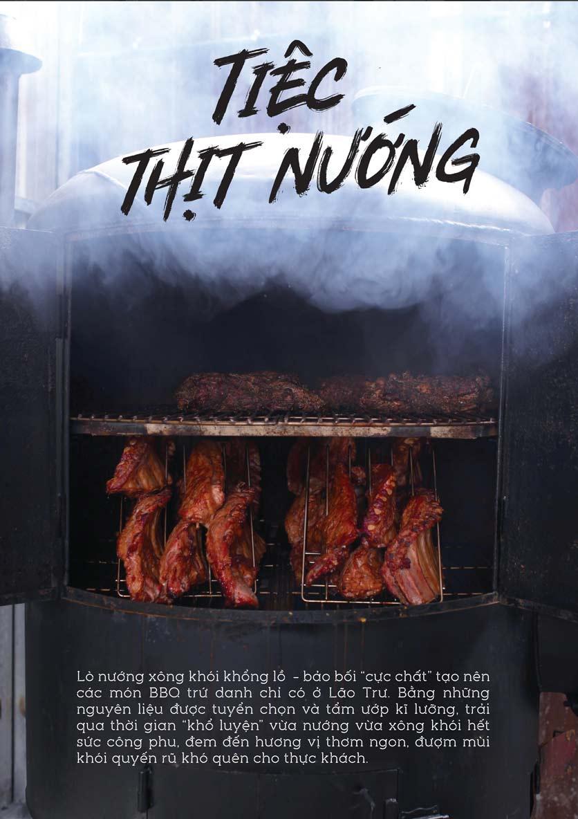 Menu Quán Lão Trư – Street Food BBQ & Beer – Song Hành   9