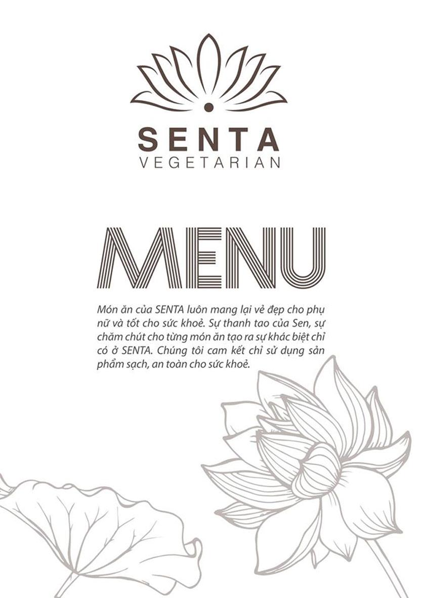 Menu Senta Vegetarian - Tô Hiến Thành  1