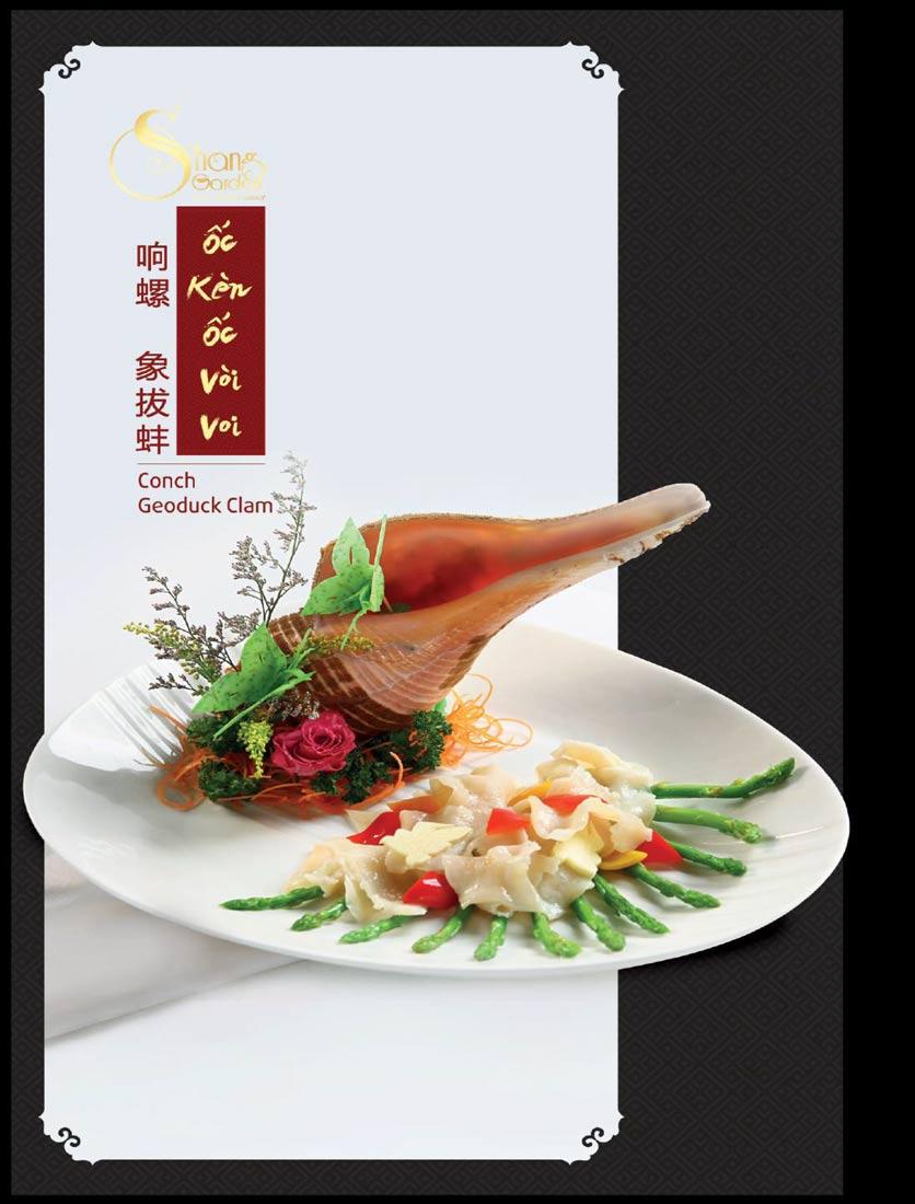 Menu Shang Garden - Tôn Thất Tùng 16