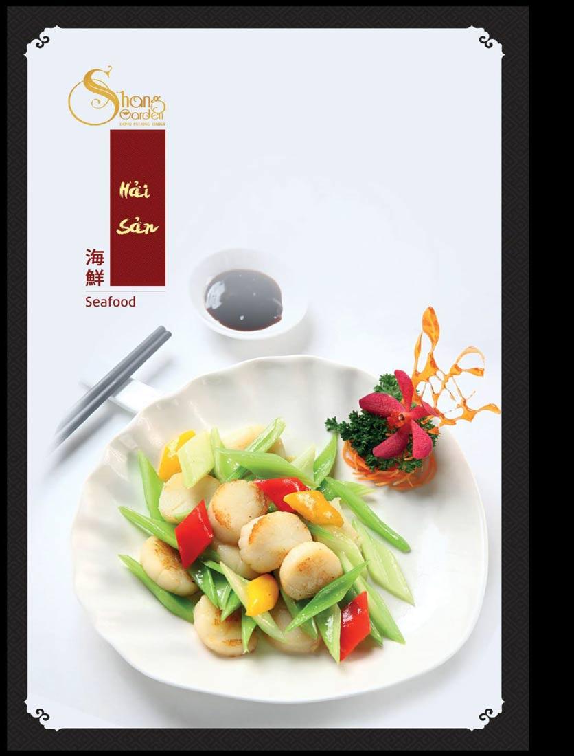 Menu Shang Garden - Tôn Thất Tùng 24