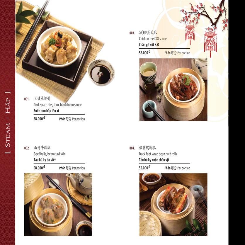 Menu Shang Garden - Nguyễn Khắc Viện 42