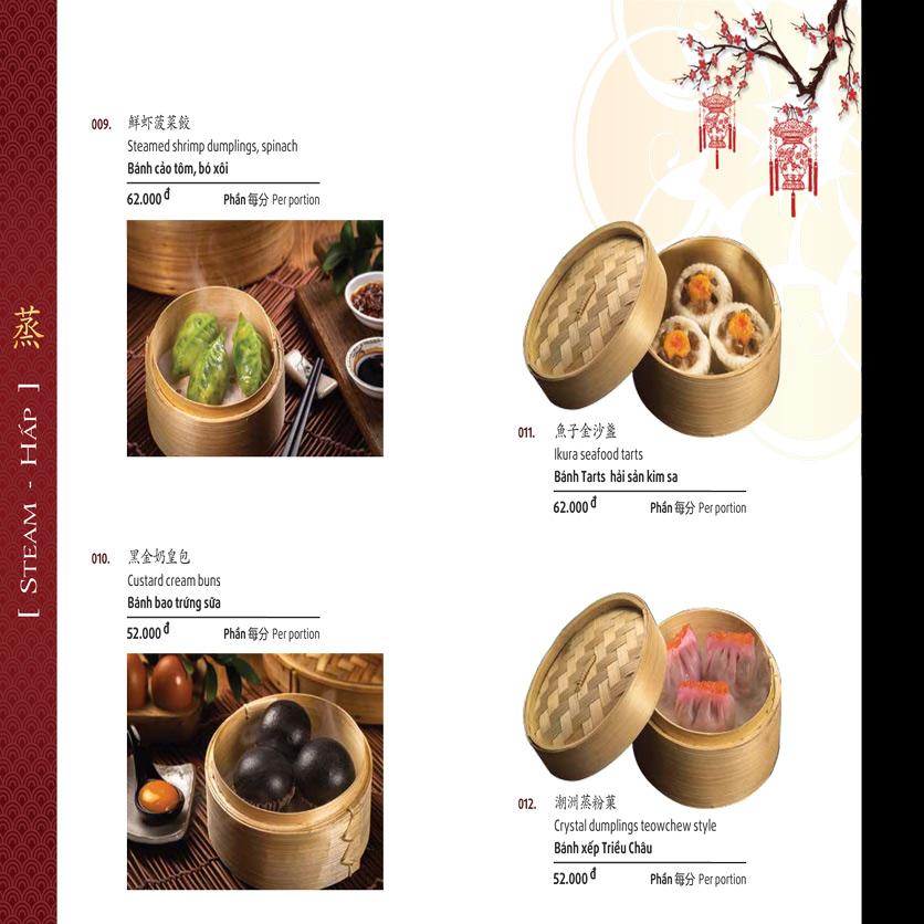 Menu Shang Garden - Nguyễn Khắc Viện 44