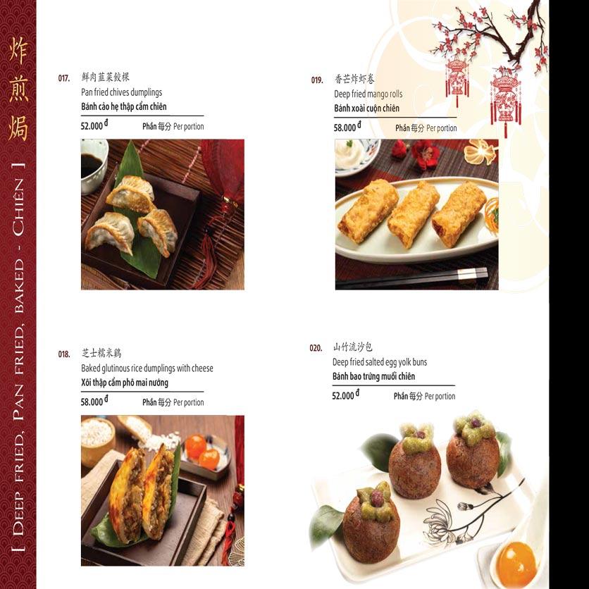 Menu Shang Garden - Nguyễn Khắc Viện 46