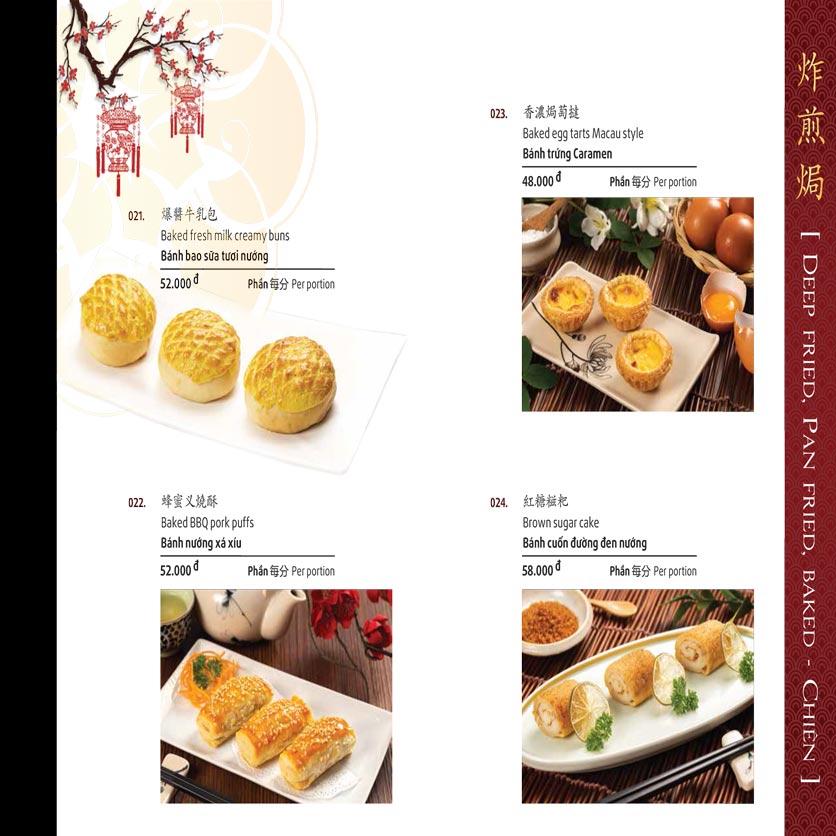 Menu Shang Garden - Tôn Thất Tùng 47