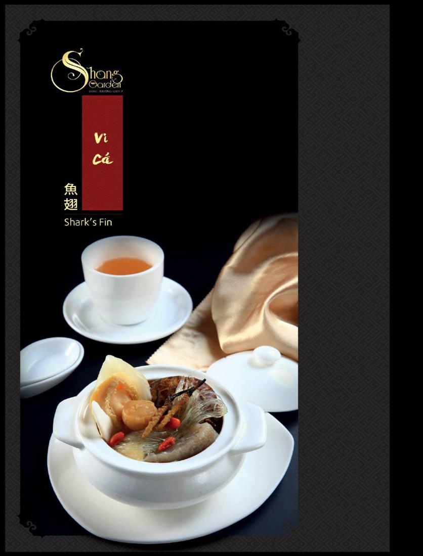 Menu Shang Garden - Tôn Thất Tùng 8