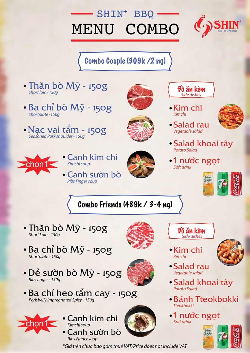 Menu Shin+ BBQ - Tố Hữu   10