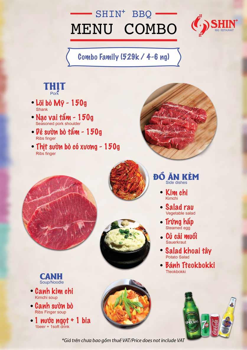 Menu Shin+ BBQ - Tố Hữu   11